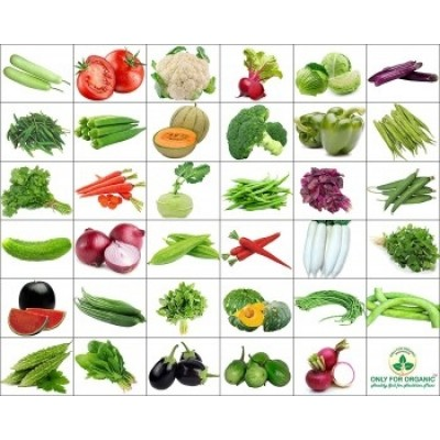 Combo of 15 winter vegetable seeds - Monthly Veg Supply Kits